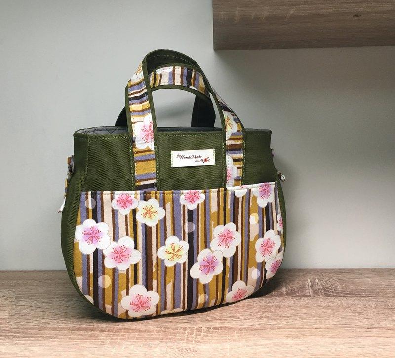 花瓣手提包