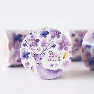 Star flower paper tape