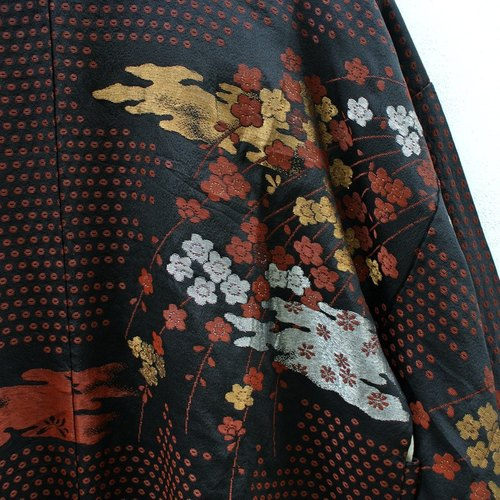 │Slowly│ Japanese Antiques - Light kimono coat M1│ .vintage retro vintage theatrical...