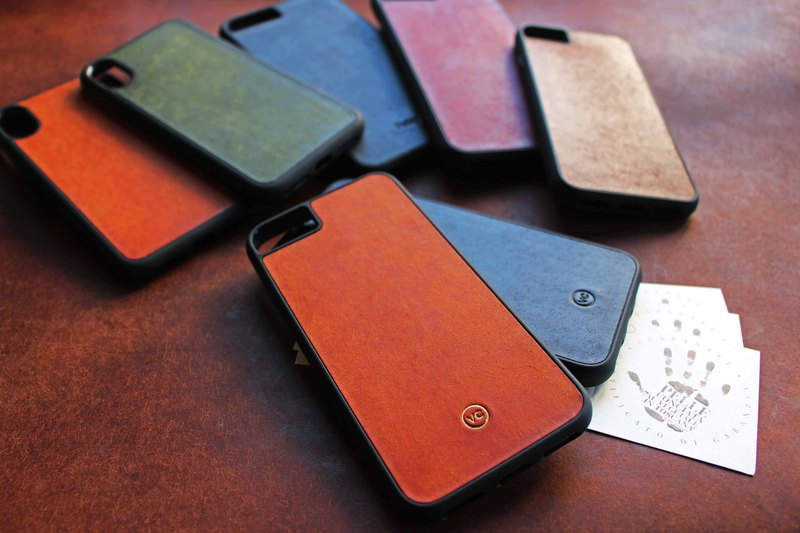 [VULCAN protected mobile phone case] iPhone 7 or above is suitable for Pueblo matte leather