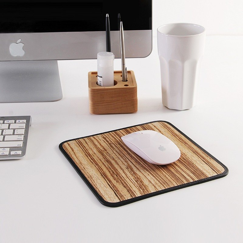 Roll Wooden Mouse Pad (Zebra Wood)