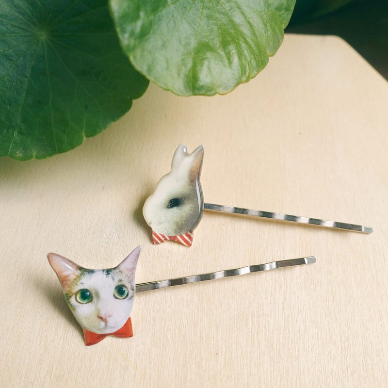 Customized Pet Dogs/Portraits Hairpins