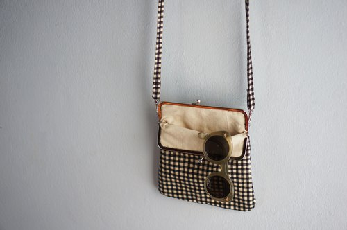 Scott click clack handmade bag