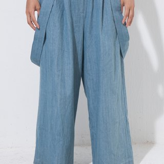 Alan Hu 2016 A/W Denim Sling Trousers