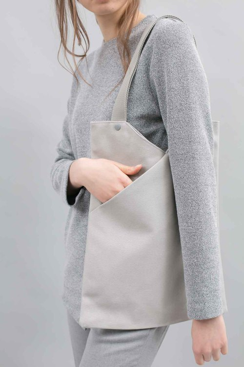 NOTCH Tote Bag (Cement Grey)
