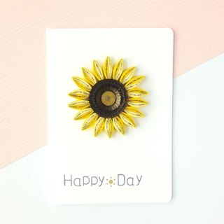 Hand made decorative cards-sunflower