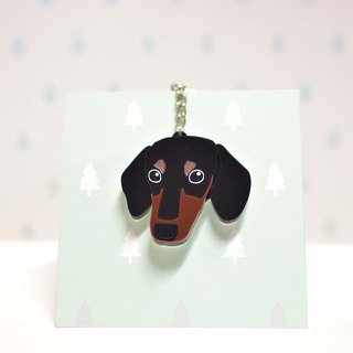 Hakuba - Shorthair - Keyring - Pet Accessories - Pet Charm - Hairy Kids - Gifts - Custom - Acrylic - BU
