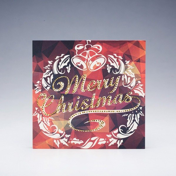 [] GFSD Rhinestone Collectibles - handmade cards - Golden Christmas