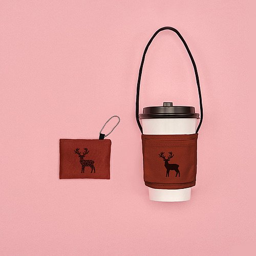 YCCT Eco Beverage Bag Classic - Reindeer - Patent Storage is not afraid to forget