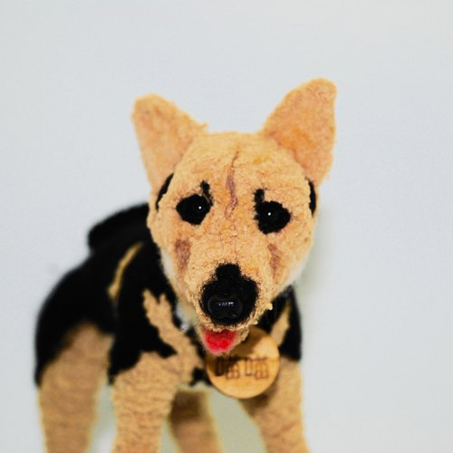 15cm pet avatar (feiwa Fei baby hand made] Miekesi pet doll (welcome to order your dog)