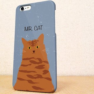 送料無料☆iPhone case GALAXY case ☆MR. CAT phone case