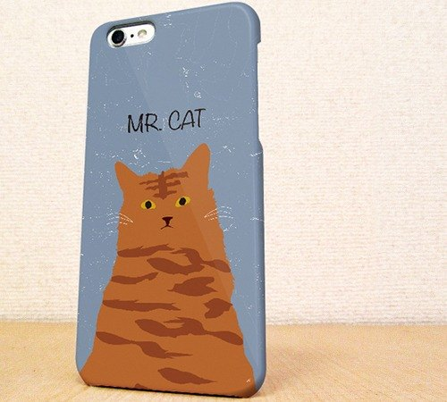 Free Shipping ☆ iPhone case GALAXY case ☆ MR. CAT phone case