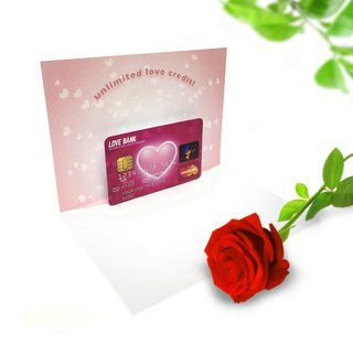 Love Card | Love Credit Card | Romantic Card