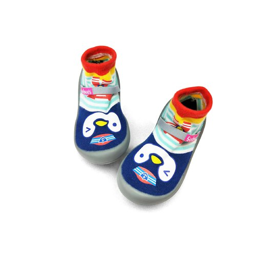 Feebees toddler shoes / socks shoes / children's shoes fantasy island series penguin sailors made in Taiwan