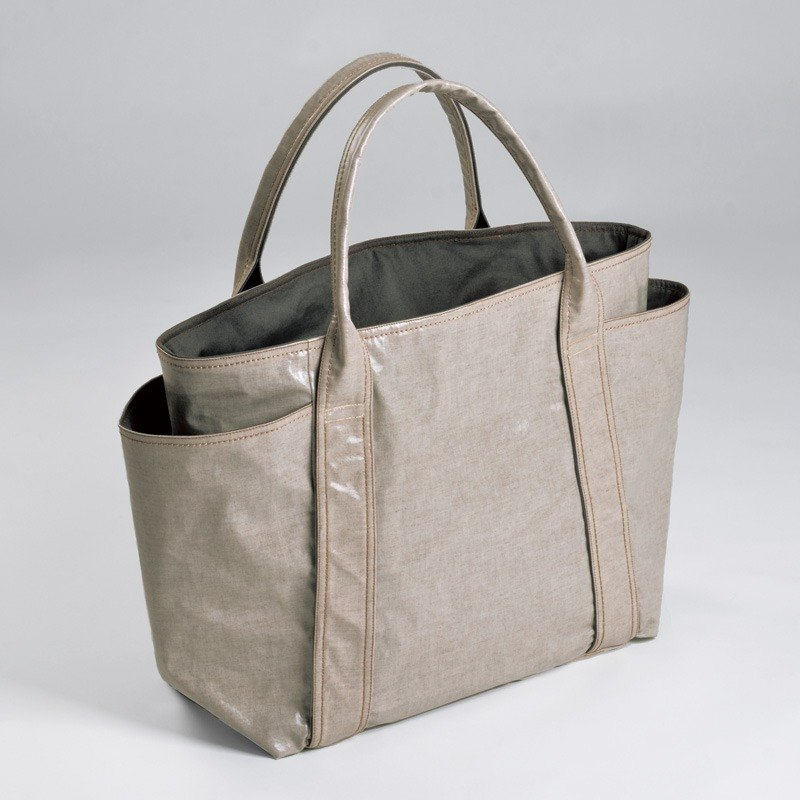 Waterproof universal handbag - khaki (small)