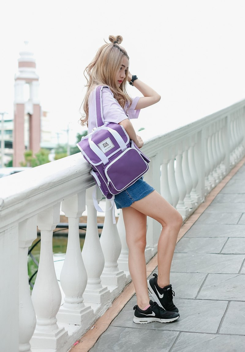 MINI BACKPACK / PULPLE