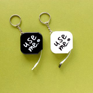 Use Me / Retractable Tape Key Ring