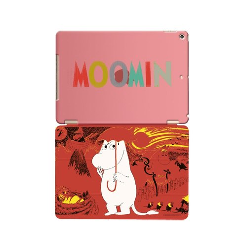 "Moomin Moomin genuine authority -iPad crystal shell: [comet struck] ""iPad / iPad Air"" Crystal Case (Red) + Smart Cover (Red)"