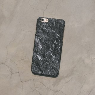 Original frosted rock Phone case (iPhone model) with lunar rock  pattern and hard shell back case