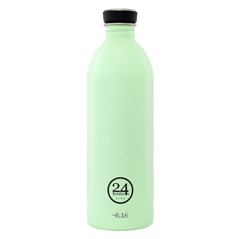 24 Bottles - Urban Bottle Pistachio Green (1000ml) - Stainless Steel Water Bottle