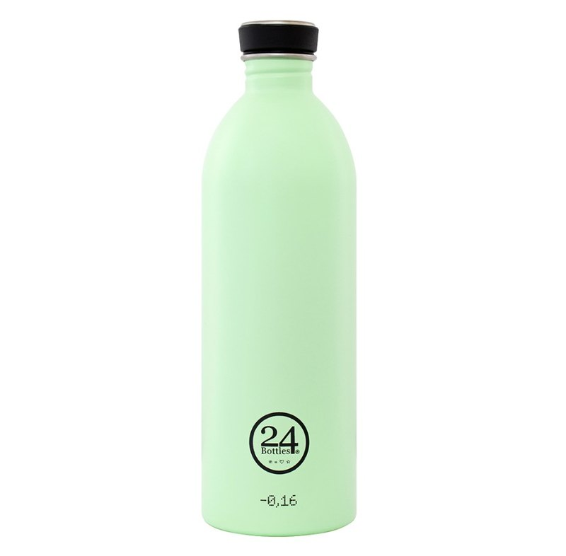 24Bottles- Urban Bottle PistachioGreen (1000ml) - Stainless Steel Water Bottle