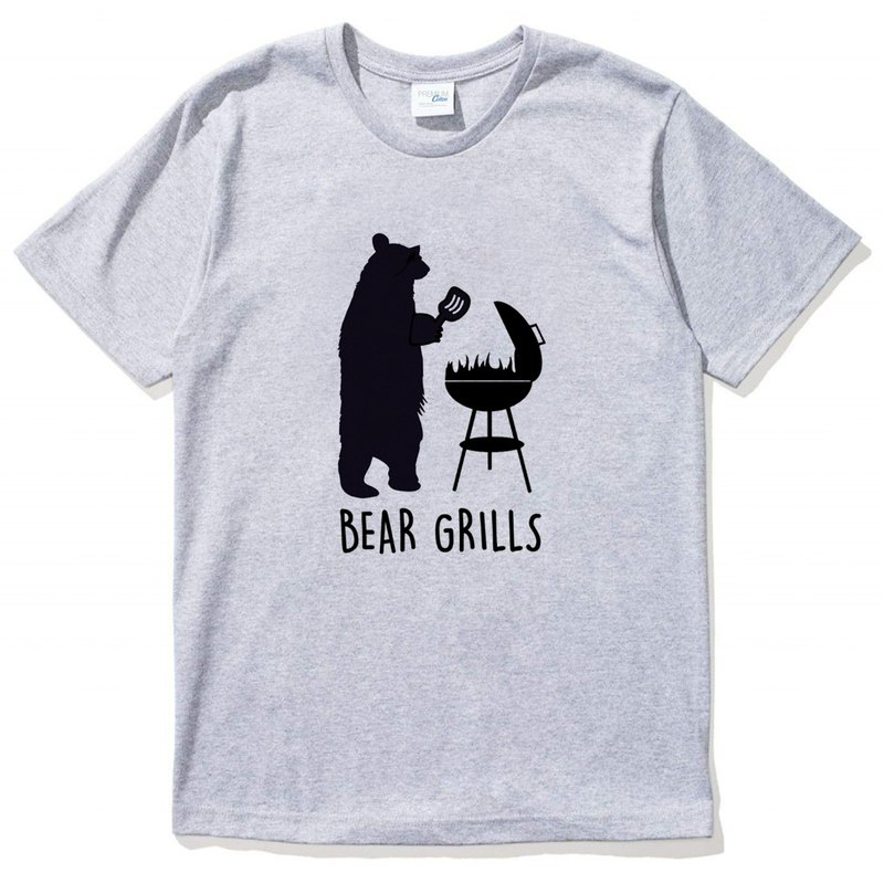 BEAR GRILLS GRAY T SHIRT