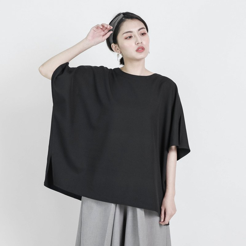 Miro Miro splicing top _8SF000_Black