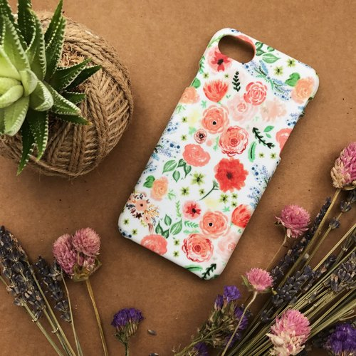 Floral. Matte Case( iPhone, HTC, Samsung, Sony, LG, OPPO)