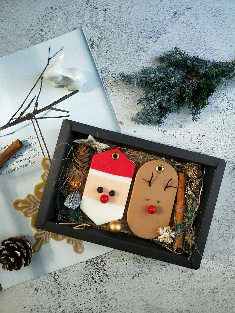 聖誕香氛蠟片-大豆蠟 聖誕節交換禮物 擴香