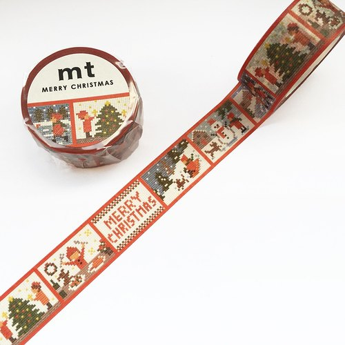 mt Masking Tape Christmas 2017【Stitch Story (MTCMAS86)】