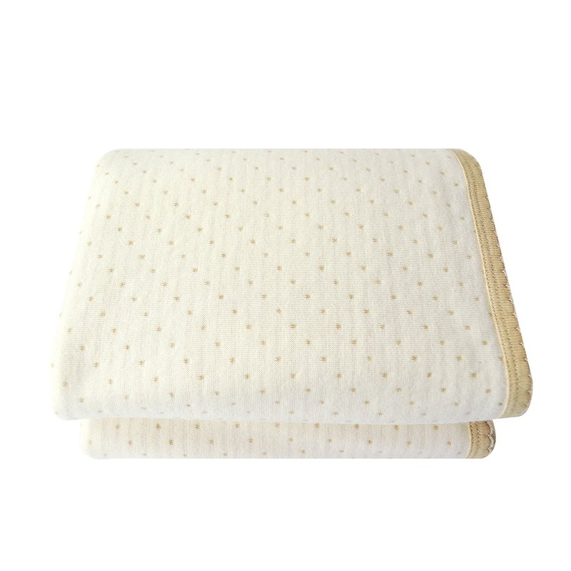 【SISSO organic cotton】 colored cotton little blanket