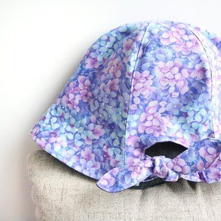 [Maweiniang series] Hydrangea handmade hat double-sided fisherman hat