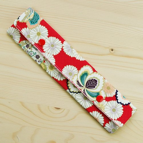 Japanese-style Chrysanthemum chopsticks bag chopsticks group