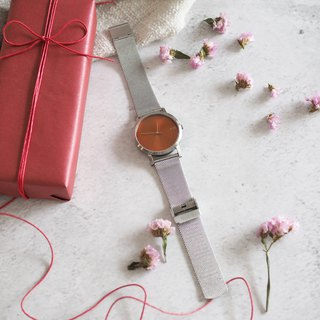 Minimal Watches : Metal Project Vol.02 - COPPER Mesh  (Silver)