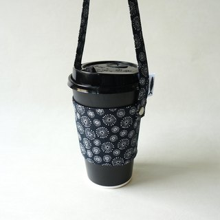 / Flower fire / green cup bag / beverage bag / cup cover