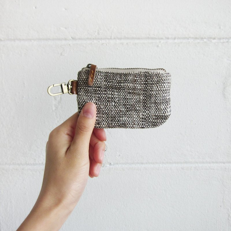 Little Coin Purses Hand Woven and Botanical Dyed Cotton