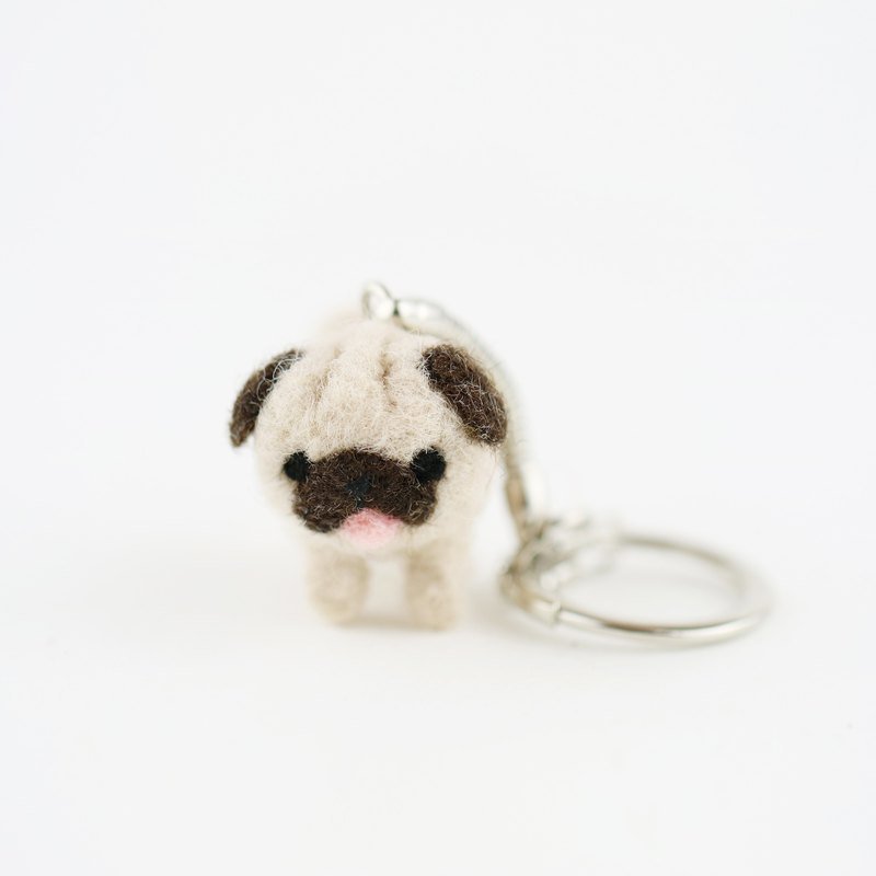 Walk the dog Key ring – Pug