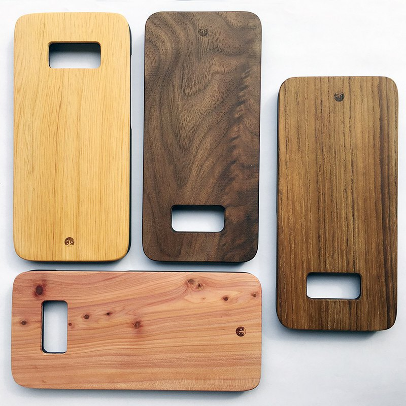 Samsung wooden phone case, S8/S8+
