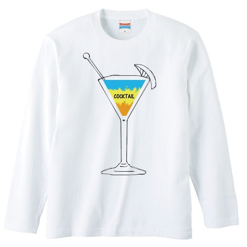 [Long Sleeve T Shirt] Cocktail