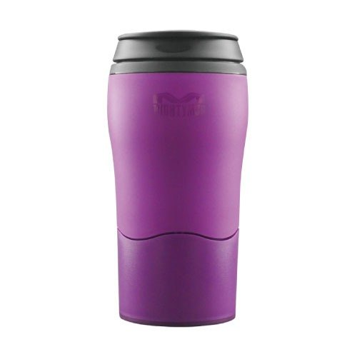 【Zouqi not inverted cup】 double light cup -2017 Mother's Day limited edition (purple)