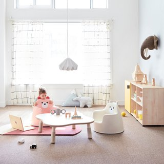 Polar ACO Polar Bear Small Sofa - Pink A353P