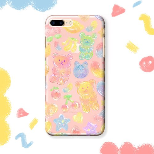 Mobile phone case │ fruit jelly (transparent)