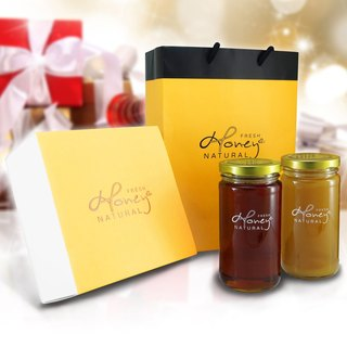 Angel Beauty: Honey Bee I Love You Honey Chun Zhu Ying Kapok flower honey pure classic gift box for each bottle into the bottle 46