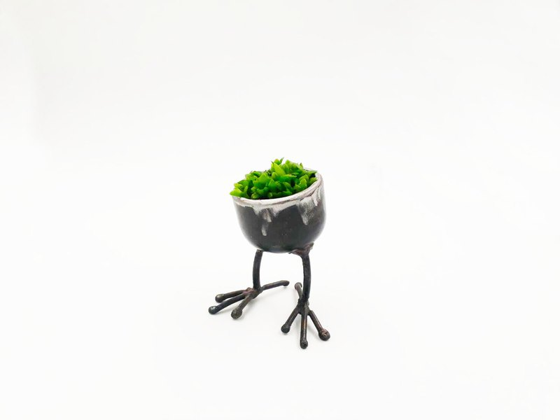Metal potted healing home decoration