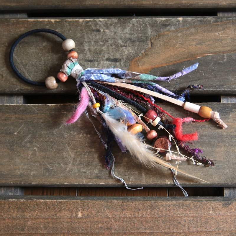 Rubber & Feather Charm