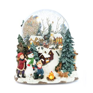 Fantasy Fairy Tale Christmas Gift Exchange Gift Christmas Crystal Ball Music Box