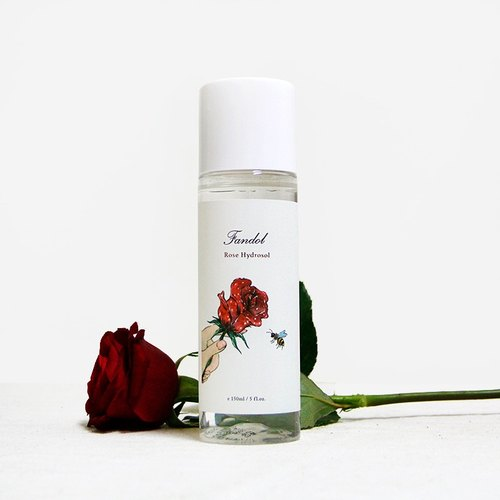 Rose flower water 150ml │ rose pure dew rose water make-up water to buy small send a small limit until the end:)