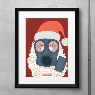 Situational Illustrator Poster: Doomsday Christmas