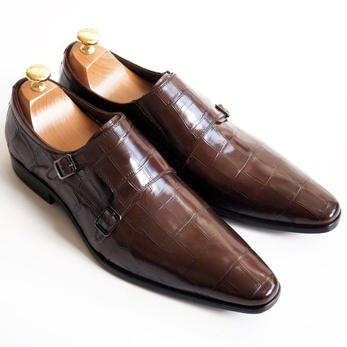 [LMdH] cooperation paragraph S1B01-89 LMdH x STERLING & Co.: leather bottom Munch shoes - brown - Free Shipping