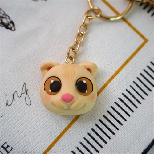 Folds animal key ring handmade jewelry Ruantao